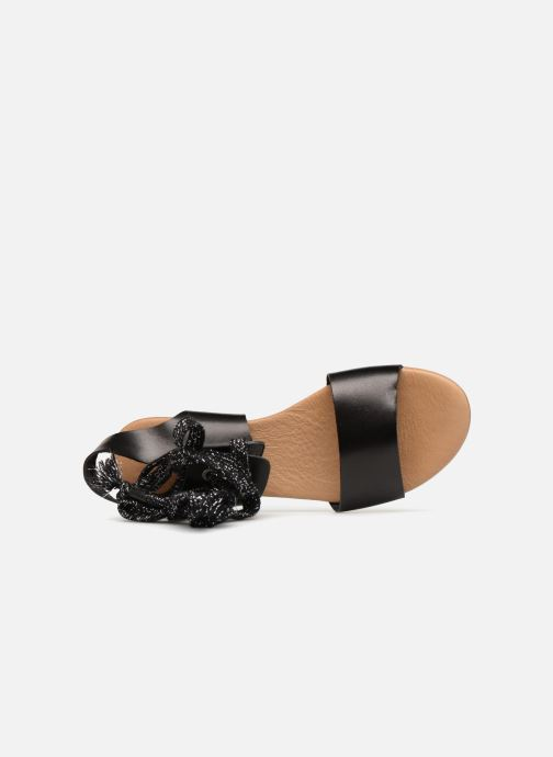 Sandals Ippon Vintage SAND-BEACH Black view from the left
