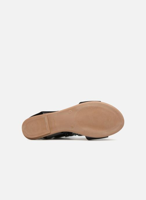 Sandals Ippon Vintage SAND-BEACH Black view from above