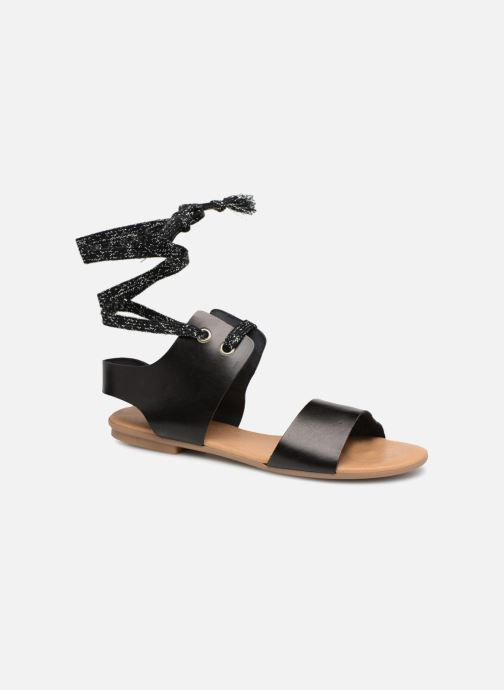 Sandals Ippon Vintage SAND-BEACH Black detailed view/ Pair view