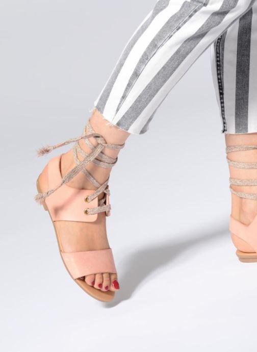 Sandales et nu-pieds Ippon Vintage SAND-BEACH Beige vue bas / vue portée sac