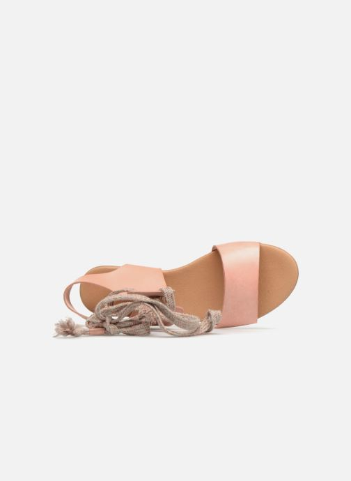 Sandales et nu-pieds Ippon Vintage SAND-BEACH Beige vue gauche