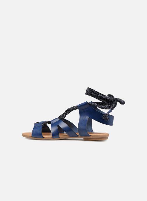 Sandales et nu-pieds Ippon Vintage SAND-LACE Bleu vue face