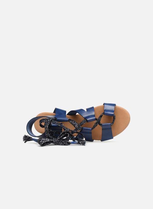 Sandales et nu-pieds Ippon Vintage SAND-LACE Bleu vue gauche