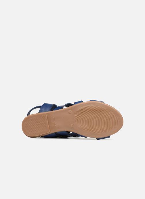 Sandales et nu-pieds Ippon Vintage SAND-LACE Bleu vue haut