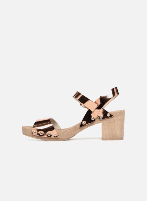 Sandales et nu-pieds Ippon Vintage SOK-METAL Rose vue face