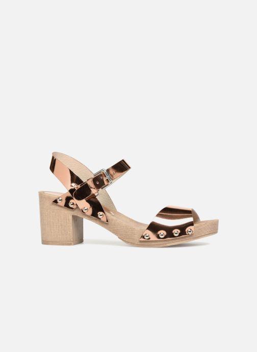Sandales et nu-pieds Ippon Vintage SOK-METAL Rose vue derrière