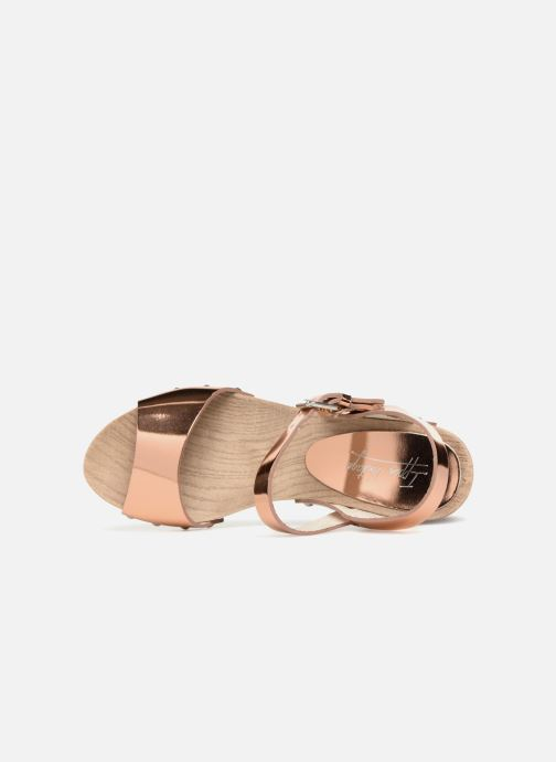 Sandali e scarpe aperte Ippon Vintage SOK-METAL Rosa immagine sinistra