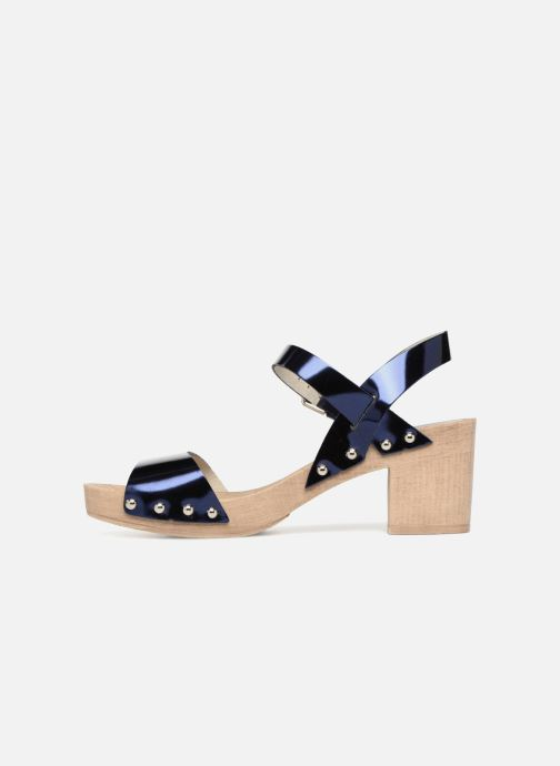 Sandales et nu-pieds Ippon Vintage SOK-METAL Bleu vue face