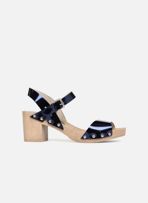 Sandales et nu-pieds Ippon Vintage SOK-METAL Bleu vue derrière