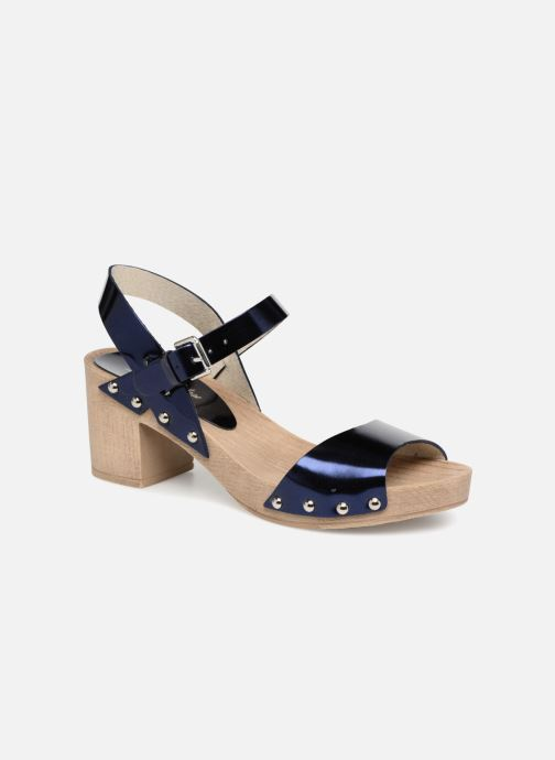 Sandales et nu-pieds Ippon Vintage SOK-METAL Bleu vue détail/paire