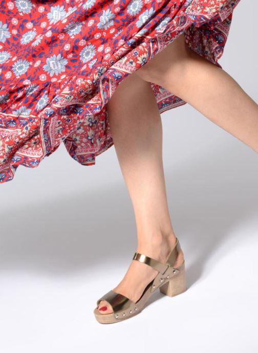 Sandales et nu-pieds Ippon Vintage SOK-METAL Or et bronze vue bas / vue portée sac