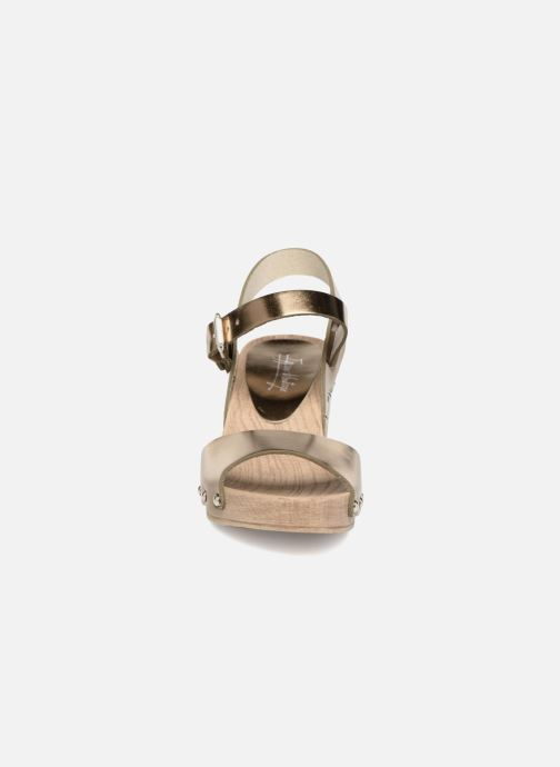 gold Vintage Sandalen Sok 343487 metal Ippon bronze 6Uqtnw67