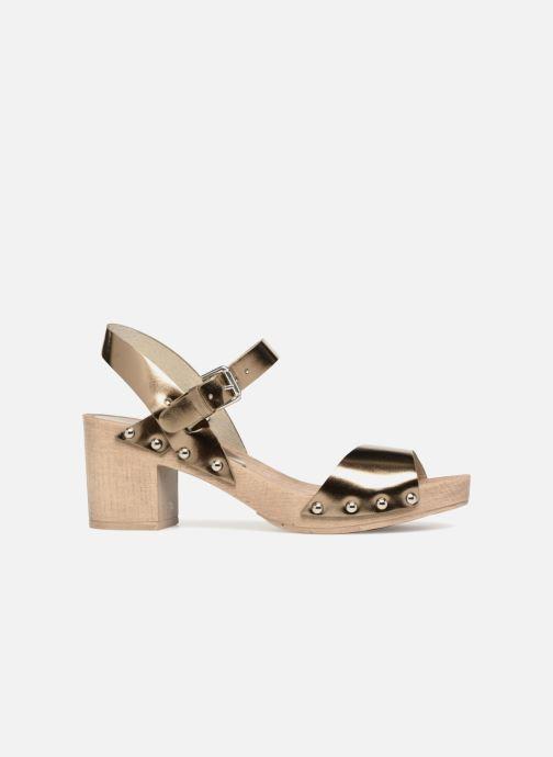 Sandales et nu-pieds Ippon Vintage SOK-METAL Or et bronze vue derrière