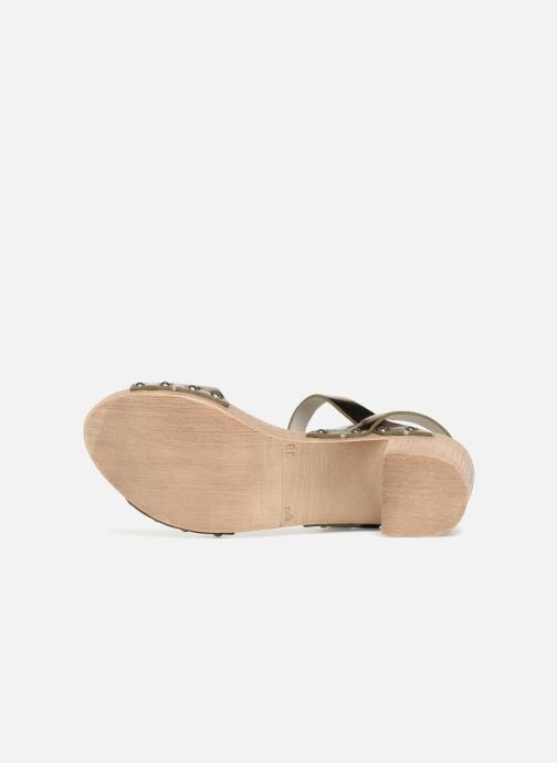 Sandales et nu-pieds Ippon Vintage SOK-METAL Or et bronze vue haut
