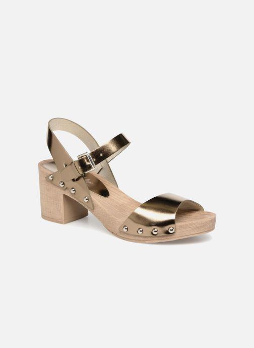 Sandales et nu-pieds Ippon Vintage SOK-METAL Or et bronze vue détail/paire