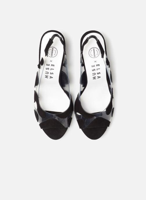 Zapatos de tacón Made by SARENZA Made by Sarenza X Elsa Muse Escarpin Negro vista del modelo