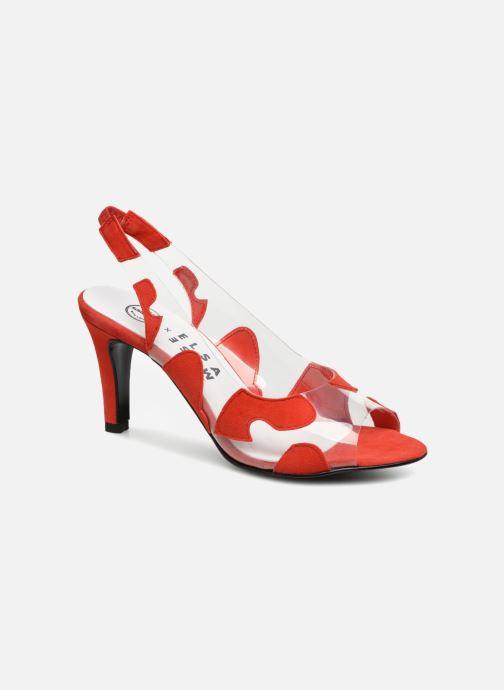 Zapatos de tacón Made by SARENZA Made by Sarenza X Elsa Muse Escarpin Rojo vista lateral derecha