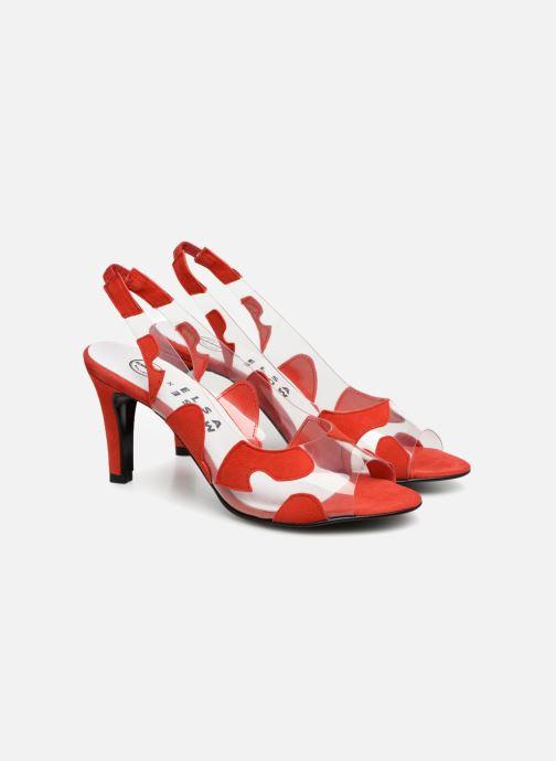 Zapatos de tacón Made by SARENZA Made by Sarenza X Elsa Muse Escarpin Rojo vistra trasera