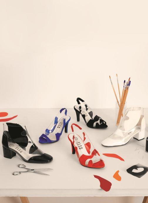 Bottines et boots Made by SARENZA Made by Sarenza X Elsa Muse Boots Noir vue 3/4