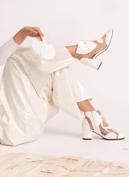 Stiefeletten & Boots Made by SARENZA Made by Sarenza X Elsa Muse Boots weiß ansicht von unten / tasche getragen