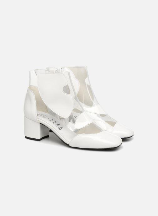 Bottines et boots Made by SARENZA Made by Sarenza X Elsa Muse Boots Blanc vue derrière