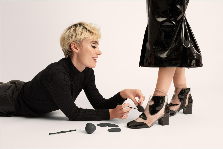 Bottines et boots Made by SARENZA Made by Sarenza X Elsa Muse Boots Noir vue bas / vue portée sac