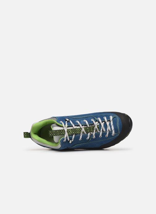 Zapatillas de deporte Garmont Dragontail LT Azul vista lateral izquierda