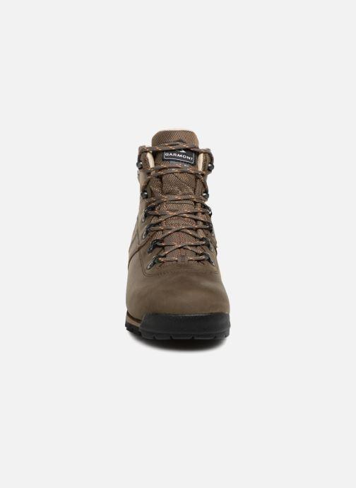 Chaussures de sport Garmont Pordoi Nubuck GTX Vert vue portées chaussures