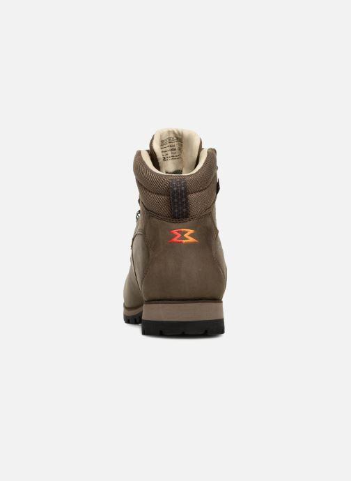 Chaussures de sport Garmont Pordoi Nubuck GTX Vert vue droite