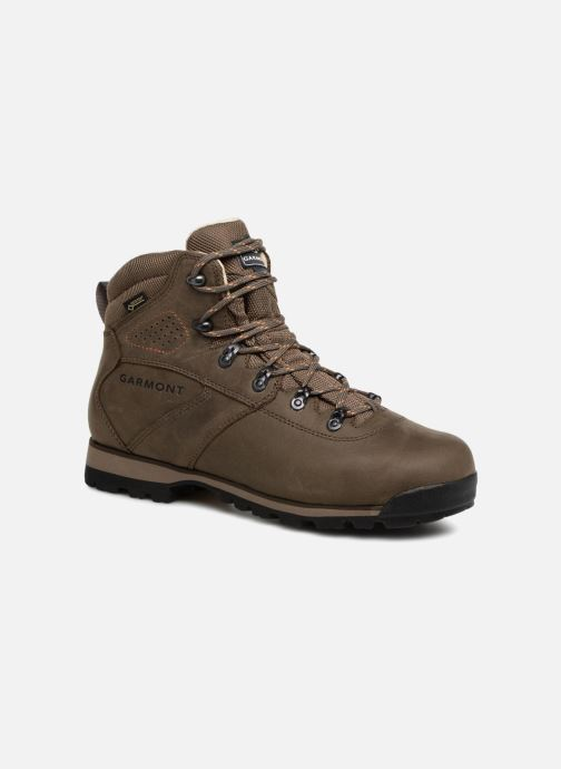 Chaussures de sport Garmont Pordoi Nubuck GTX Vert vue détail/paire