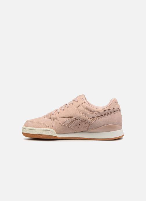 Sneaker Reebok Phase 1 Pro W rosa ansicht von vorne