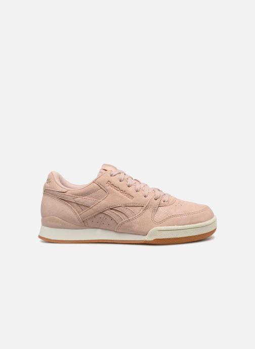 Sneaker Reebok Phase 1 Pro W rosa ansicht von hinten
