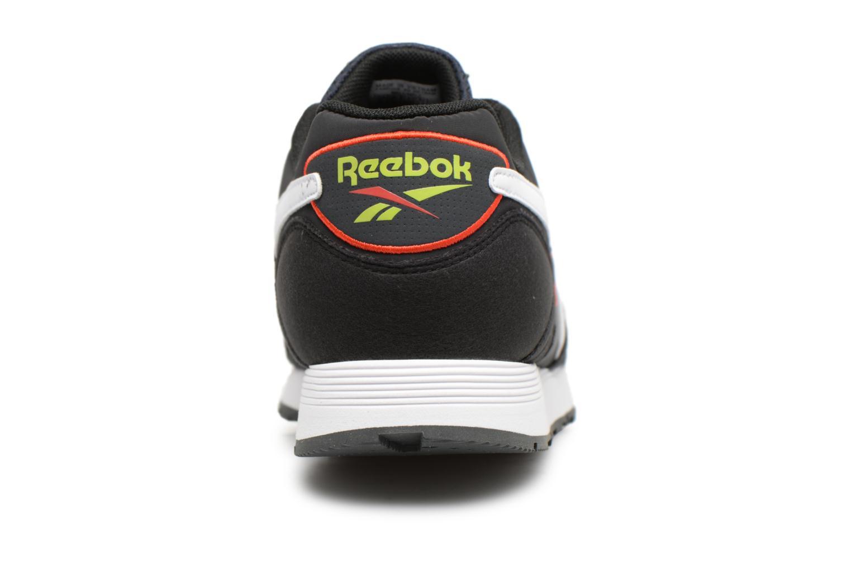 Baskets Reebok Rapide Mu Noir vue droite