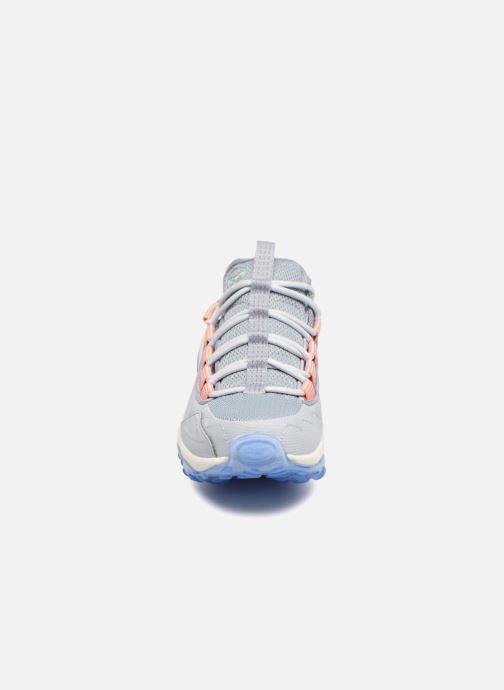 Baskets Reebok Dmx Run 10 Bleu vue portées chaussures