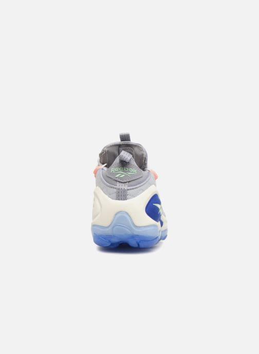 Baskets Reebok Dmx Run 10 Bleu vue droite
