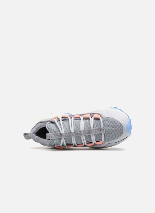 Trainers Reebok Dmx Run 10 Blue view from the left
