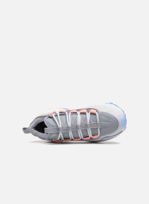 Baskets Reebok Dmx Run 10 Bleu vue gauche