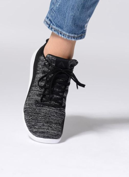 Sport shoes Reebok Ardara Black view from underneath / model view