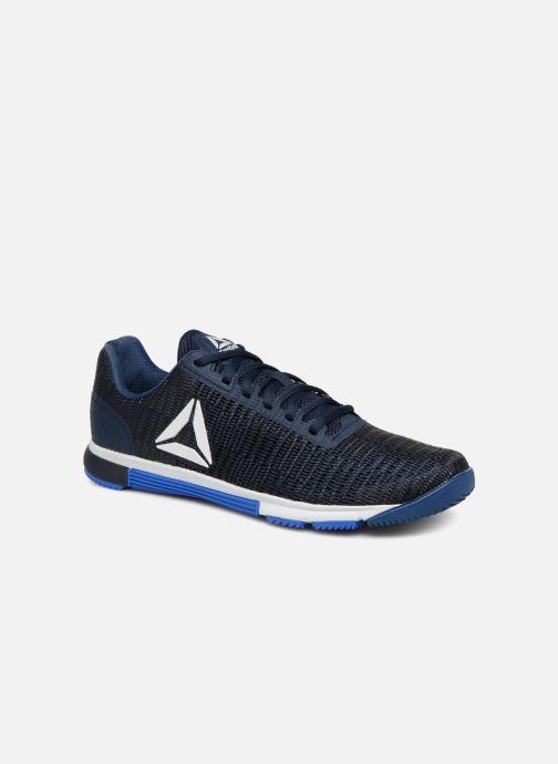 premium selection 6d0a5 c41aa Chaussures de sport Reebok Speed Tr Flexweave Bleu vue détail paire