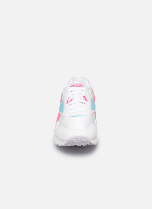 Sneaker Reebok Rapide Mu W weiß schuhe getragen