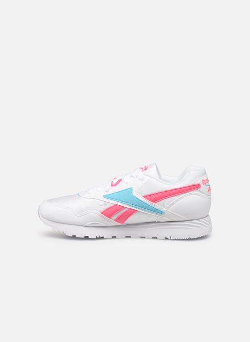 Sneaker Reebok Rapide Mu W weiß ansicht von vorne