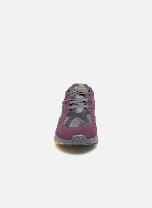 Sneaker Reebok Aztrek lila schuhe getragen