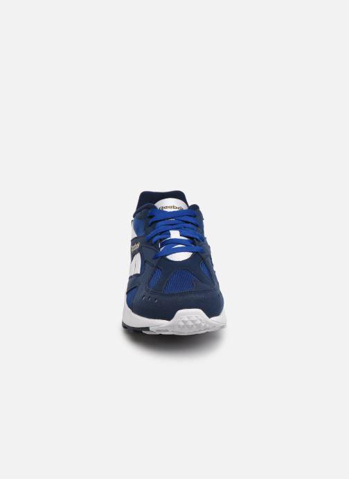 Baskets Reebok Aztrek Bleu vue portées chaussures
