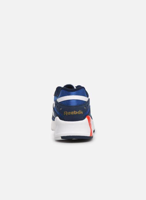 Baskets Reebok Aztrek Bleu vue droite