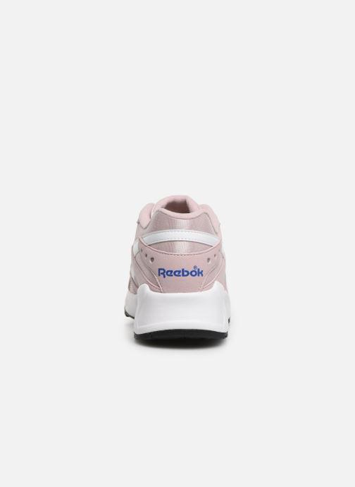Sneaker Reebok Aztrek rosa ansicht von rechts