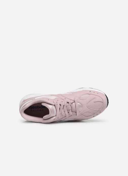 Sneaker Reebok Aztrek rosa ansicht von links