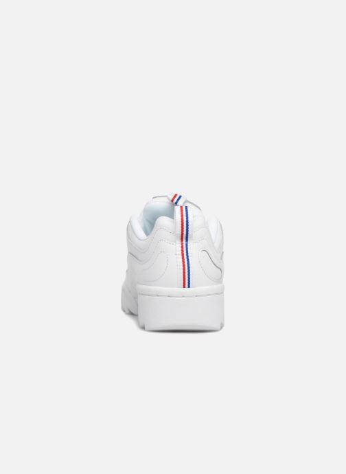 Baskets Reebok Rivyx Ripple Blanc vue droite