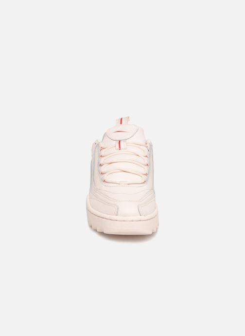 Baskets Reebok Rivyx Ripple Rose vue portées chaussures