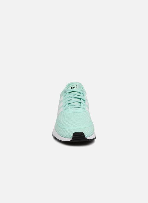 Sneaker Adidas Originals N-5923 J grün schuhe getragen