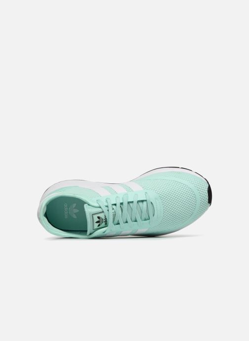 Sneaker Adidas Originals N-5923 J grün ansicht von links